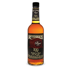 RITTENHOUSE STRAIGHT RYE WHISKY 100 BOND