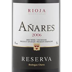 BODEGAS OLARRA A�ARES RESERVA 2010