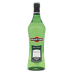 MARTINI EXTRA DRY VERMOUTH WHITE