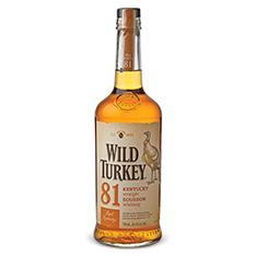 WILD TURKEY 81 PROOF KENTUCKY STRAIGHT BOURBON