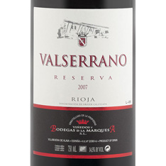 VALSERRANO RESERVA 2010