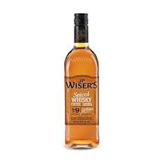 WISER'S SPICED TORCHED TOFFEE CANADIAN WHISKY
