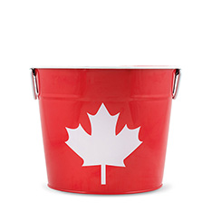 CANADA DAY PAIL