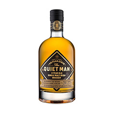THE QUIET MAN 8 YEAR OLD SINGLE MALT IRISH WHISKEY