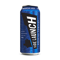SIDE LAUNCH MOUNTAIN LAGER