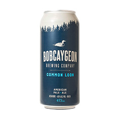 BOBCAYGEON BREWING COMMON LOON APA
