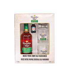 CANADIAN CLUB 100% RYE OLD FASHIONED GIFT PACK