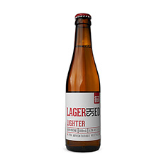 SHED BREWING LAGERSHED LIGHTER