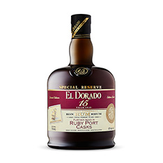 EL DORADO 15YO RUBY PORT CASKS