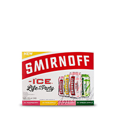 SMIRNOFF ICE FLAVOURS PARTY PACK 12X355ML