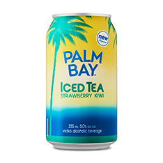 PALM BAY STRAWBERRY KIWI TROPICAL ICED TEA