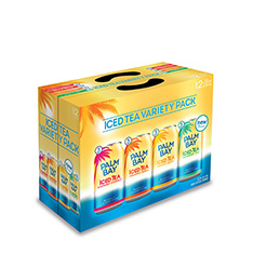 PALM BAY TROPICAL ICED TEA MIXER 12X355ML