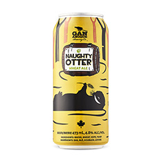 NAUGHTY OTTER WHEAT ALE