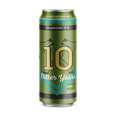 BLACK OAK BREWING 10 BITTER YEARS