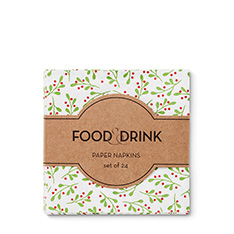 F&D NAPKINS - HOLIDAY 2017