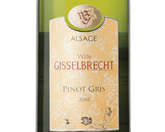 WILLY GISSELBRECHT TRADITION PINOT GRIS 2015