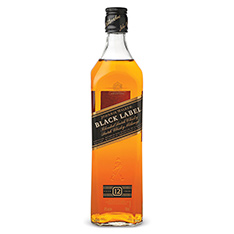 JOHNNIE WALKER BLACK LABEL 12 YEARS OLD SCOTCH WHISKY